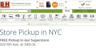 Order Online Pickup In Store by Nyc In Store Pickup Now Available At B U0026h For Online And Phone Orders