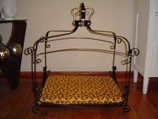 canopy dog bed ebay