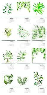 botanical calendars desk calendar botanical calendar so pretty diy ideas