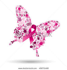 pink butterfly silhouette made shapes stock vector 458731480