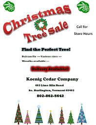 christmas trees koenig cedar