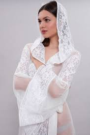 wedding lingiere tulle bridal robe f15 bridal wedding lingeriethe