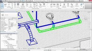 Plumbing Floor Plan Revit Mep 2014 Tutorial Adding Sanitary Sloped Piping Lynda Com