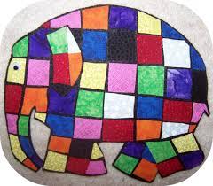 Elmer The Patchwork Elephant Story - elmer the patchwork elephant flannel story flannels patchwork