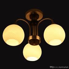 Yellow Light Fixture Discount Modern Art Deco Chandelier 3 Lights Indoor Pendant Lamps