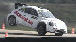 volkswagen beetle race car volkswagen new beetle rallycross supercar start up anti lag
