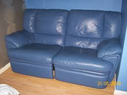 Blue Leather Chair Furniture Chic And Pretty Blue Sofa Blue Parsons Chair With