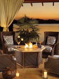 Octagon Dining Room Table Furniture Astonishing Outdoor Dining Room Decoration With Light
