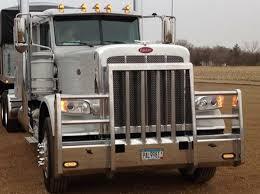 peterbilt peterbilt truck defender bumper cs diesel beardsley mn