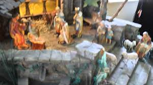 Home Interiors Nativity Set Antique Nativity Youtube