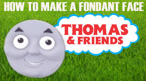 how to make a fondant thomas the tank engine cake face ann reardon