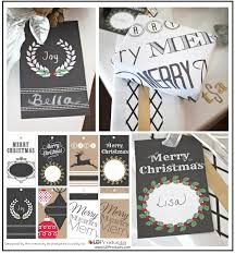 chalk wrapping paper free printable tags wrapping paper and sign