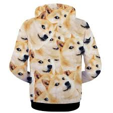 What Is Doge Meme - japanese doge meme jacket funny joke dog casual man hoodie