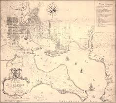 Map Of Baltimore Md Folie U0027s Map Of Baltimore And Environs 1792