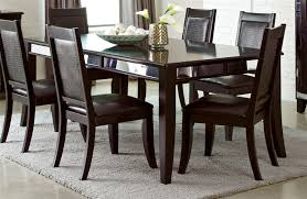 middleton 5 piece dining set in cappuccino finish by coaster 106161