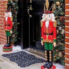 soldier entryway 36 large outdoor yard nutcracker