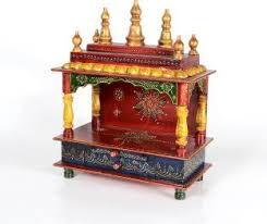shilpi handcrafted wall mounted temple and wall shelf in sheesham vishwakarma furniture wooden home temple price in india buy