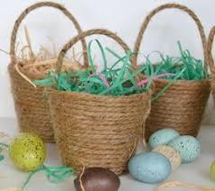wicker easter baskets diy mini easter baskets milk jug flower design and decor string egg