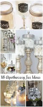 bathroom apothecary jar ideas 18 lovely apothecary jar ideas apothecaries jar and tutorials
