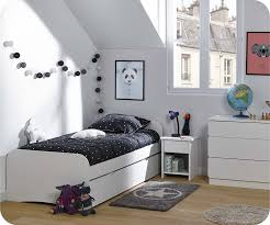 photo chambre enfant chambre enfant twist blanche set de 3 meubles