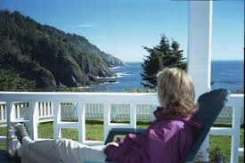 bed and breakfast oregon sea lion point view from heceta head lighthouse b b bed and