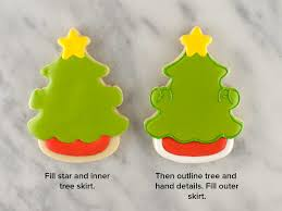 how to make christmas tree cookies semi sweet designs