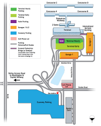 Dulles Town Center Map Parking Information Metropolitan Washington Airports Authority