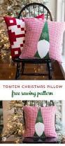 tomte christmas gnome pillow pattern christmas gnome diy