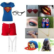 Supergirl Halloween Costumes Halloween Costume Party Louis Tomlinson Supergirl Polyvore
