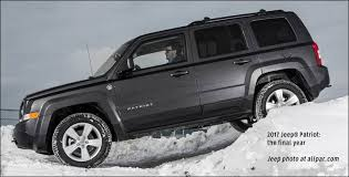 is a jeep patriot a car jeep patriot the compact suvs 2006 2017 road capability