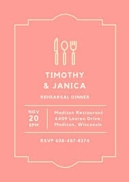 rehearsal brunch invitations customize 93 rehearsal dinner invitation templates online canva