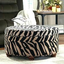 Zebra Chair And Ottoman Cheetah Print Ottoman Etechconsulting Co