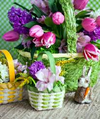 Easter Basket Table Decorations by 20 Decorating Ideas For Creative Table Arrangements Easter Nest