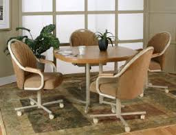 Caster Chair Dining Room Furniture - Caster dining room chairs