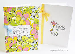 handmade religious easter cards featuring verve sts and