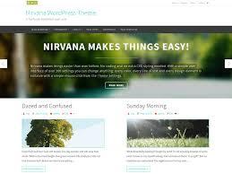 nirvana a responsive wordpress theme with boxed and wide layouts