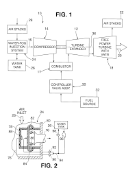 patent us6516603 gas turbine engine system with water injection
