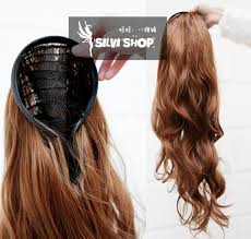 headband hair extensions 8 colors available half wig for women hair wigs synthetic material