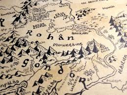 map from lord of the rings map lord the ring pencil and in color map lord the ring