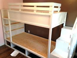 Crib Bunk Bed Bunk Bed With Crib Underneath Beds Crib Size Bunk Bed Plans