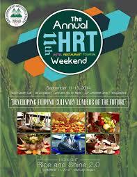 11th hrt weekend souvenir program by baguio country club