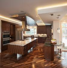 denver black walnut flooring kitchen contemporary with dark wood