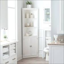 White Corner Cabinet Bathroom Bathroom Corner Cabinets Engem Me