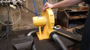 a cheap air blower for back yard metal casting or a forge youtube
