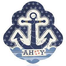 nautical party supplies ahoy nautical party tableware plates cups napkins