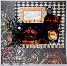 scrapbook halloween background aeryn u0027s creative explosion disneyland halloween 2011