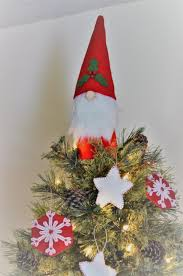 Gnome Ornament Christmas Felt Gnome Christmas Tree Topper