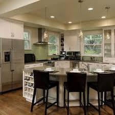 Small Kitchen Designs With Island by Big Kitchen Design Long Kitchen Table Seating And Kitchens