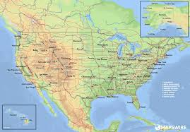Topographical Map Of South America by Free Maps Of The United States U2013 Mapswire Com