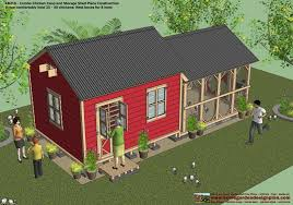 gerry woodworkers easy to playhouse storage shed plans